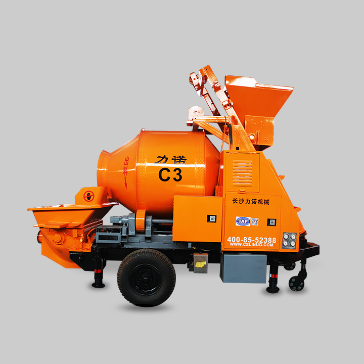 C3 Electric Concrete mixer Pump
