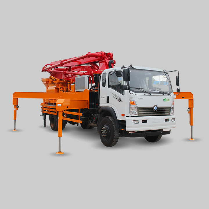 A8 Concrete Boom Pump With Mixer
